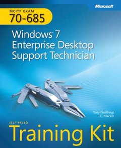 MCITP Self-Paced Training Kit (Exam 70-685): Windows 7, Enterprise Desktop Support Technician (Paperback)-cover