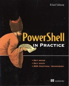 Powershell in Practice (Paperback)-cover
