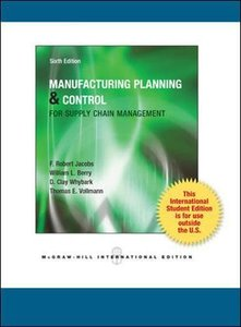 Manufacturing Planning and Control for Supply Chain Management, 6/e (IE-Paperback)