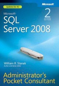 Microsoft SQL Server 2008 Administrator's Pocket Consultant, 2/e (Paperback)-cover