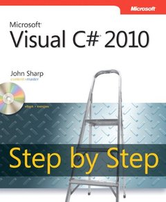 Microsoft Visual C# 2010 Step by Step (Paperback)-cover