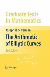 The Arithmetic of Elliptic Curves, 2/e (Hardcover)-cover