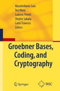 Gröbner Bases, Coding, and Cryptography (Hardcover)-cover