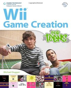 Wii Game Creation for Teens (Paperback)-cover