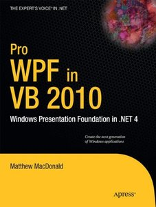 Pro WPF in VB 2010 (Paperback)-cover