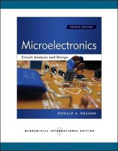 Microelectronics Circuit Analysis and Design, 4/e (Paperback)-cover