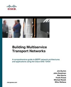 Building Multiservice Transport Networks (Paperback)-cover