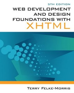 Web Development and Design Foundations with XHTML, 5/e (Paperback)-cover