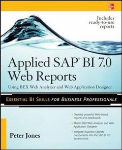 Applied SAP BI 7.0 Web Reports: Using BEx Web Analyzer and Web Application Designer (Paperback)-cover