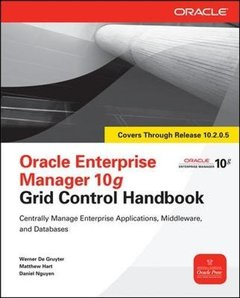 Oracle Enterprise Manager 10g Grid Control Handbook (Paperback)-cover