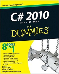 C# 2010 All-in-One For Dummies (Paperback)-cover