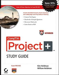 CompTIA Project+ Study Guide: Exam PK0-003 (Paperback)-cover