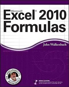 Excel 2010 Formulas (Paperback)-cover