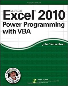 Excel 2010 Power Programming with VBA (Paperback)-cover