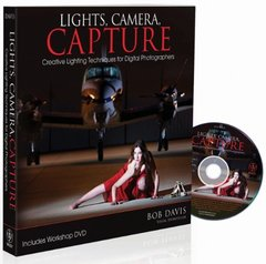 Lights, Camera, Capture: Creative Lighting Techniques for Digital Photographers (Paperback)-cover