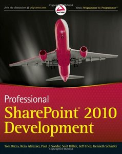 Professional SharePoint 2010 Development (Paperback)-cover
