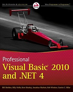Professional Visual Basic 2010 and .NET 4 (Paperback)-cover