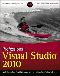 Professional Visual Studio 2010 (Paperback)-cover