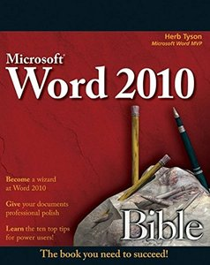 Word 2010 Bible (Paperback)-cover