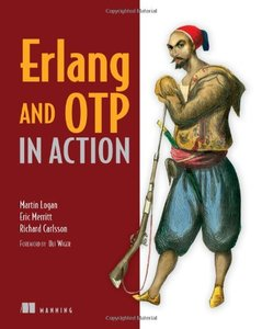 Erlang and OTP in Action (Paperback)-cover