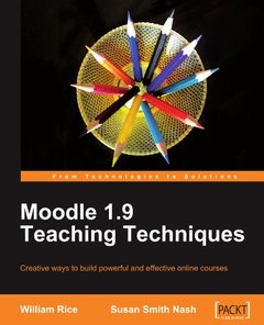 Moodle 1.9 Teaching Techniques (Paperback)-cover