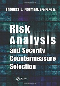 Risk Analysis and Security Countermeasure Selection (Hardcover)-cover