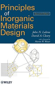 Principles of Inorganic Materials Design, 2/e (Hardcover)-cover