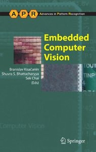 Embedded Computer Vision (Hardcover)