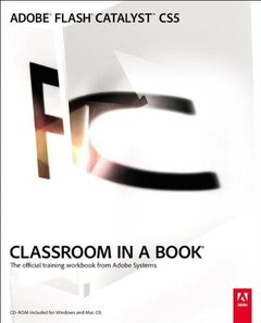 Adobe Flash Catalyst CS5 Classroom in a Book (Paperback)-cover