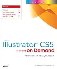 Adobe Illustrator CS5 on Demand (Paperback)-cover
