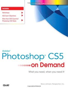 Adobe Photoshop CS5 on Demand (Paperback)-cover