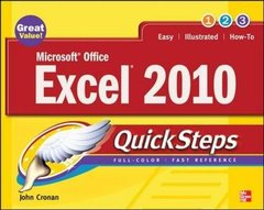 Microsoft Office Excel 2010 QuickSteps, 2/e (Paperback)-cover