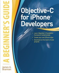 Objective-C for iPhone Developers, A Beginner's Guide (Paperback)-cover
