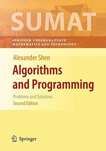 Algorithms and Programming: Problems and Solutions, 2/e (Hardcover)