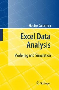 Excel Data Analysis: Modeling and Simulation (Hardcover)-cover
