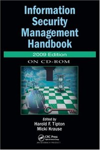 Information Security Management Handbook, 2009 CD-ROM Edition-cover