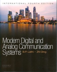 Modern Digital and Analog Communications Systems, 4/e (IE-Paperback)-cover