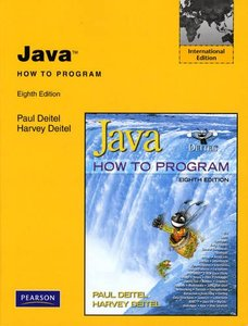 Java How to Program, 8/e (IE-Paperback)-cover