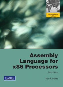 Assembly Language for x86 Processors, 6/e (IE-Paperback)-cover