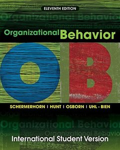 Organizational Behavior, 11/e (Paperback)-cover