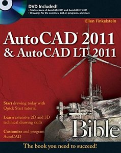 AutoCAD 2011 and AutoCAD LT 2011 Bible (Paperback)-cover