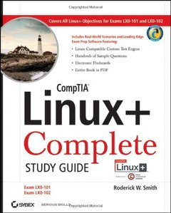 CompTIA Linux+ Study Guide: Exams LX0-101 and LX0-102 (Paperback)-cover