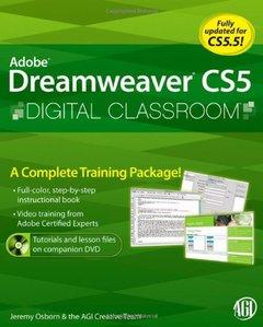 Dreamweaver CS5 Digital Classroom (Paperback)-cover