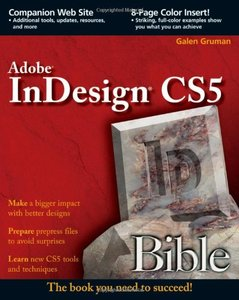 InDesign CS5 Bible (Paperback)-cover