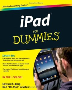 iPad For Dummies (Paperback)-cover
