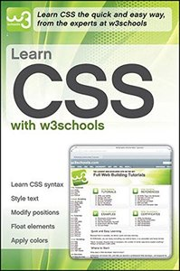Learn CSS with w3Schools (Paperback)-cover