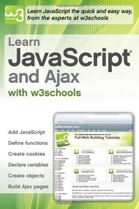 Learn JavaScript and Ajax with w3Schools (Paperback)-cover