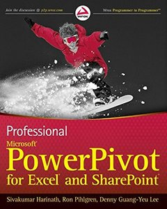 Professional Microsoft PowerPivot for Excel and SharePoint (Paperback)-cover