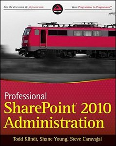 Professional SharePoint 2010 Administration (Paperback)-cover