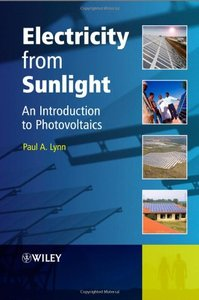 Electricity from Sunlight: An Introduction to Photovoltaics (Hardcover)-cover